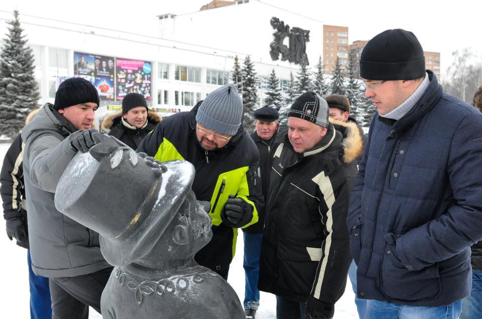 Городская скульптура «Ижик». Фото facebook (Константин Труфанов)