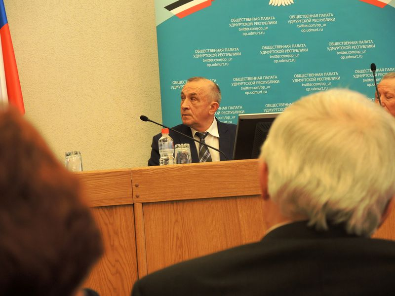 Глава УР Александр Соловьёв. Фото Юлия Сунцова.
