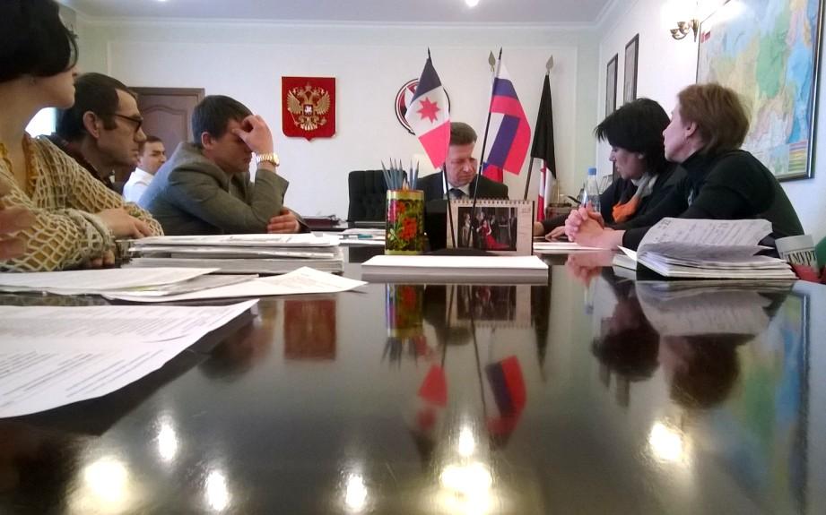 На встрече общественников с премьером. Фото ©День.org