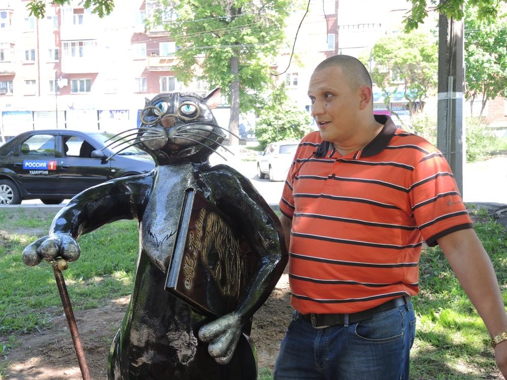 Автор Кота Павел Перескоков. Фото ©День.org
