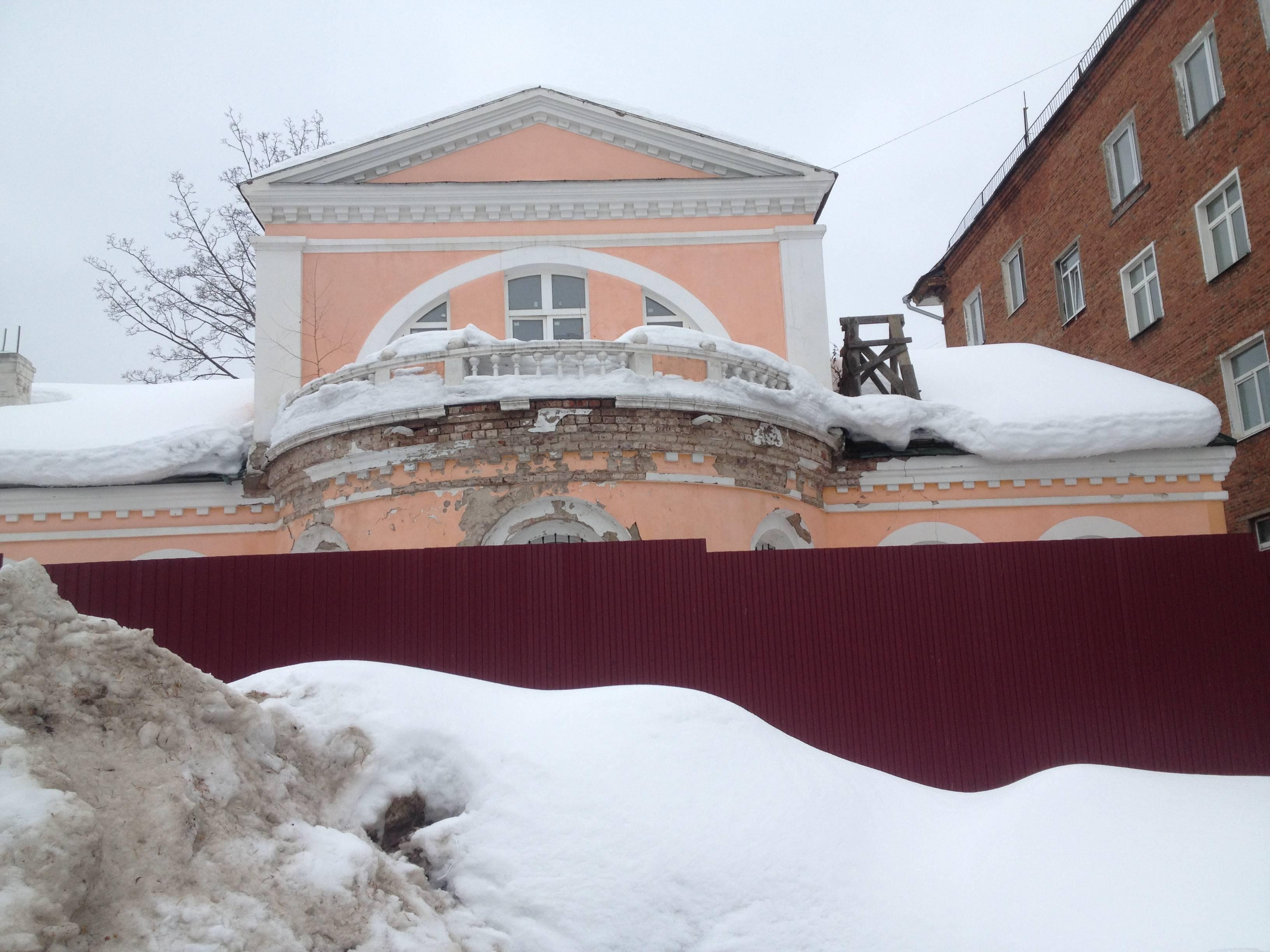 Отреставрировали фасад дома Лятушевича, но пока думают, что делать дальше, он снова пришел в негодность. Фото: © «ДЕНЬ.org»