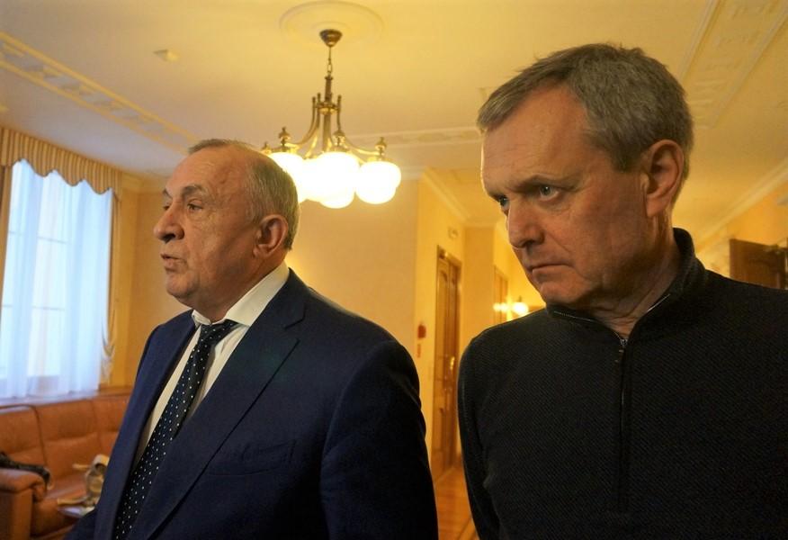 Александр Соловьев и Юрий Молчанов. Фото: «ДЕНЬ.org»