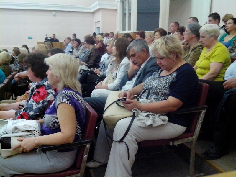 Слушатели как-то приуныли. Фото ©День.org