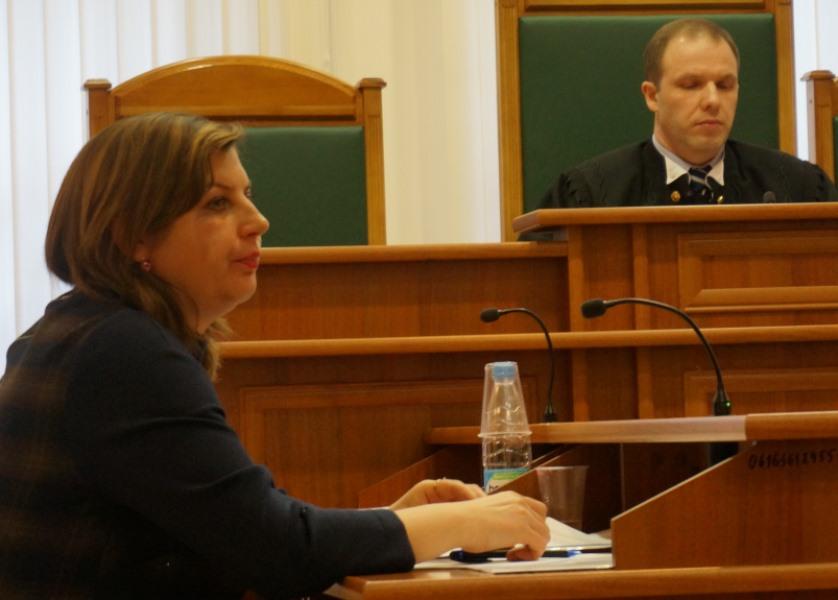 Адвокат Марина Ермолаева. Фото: ©«ДЕНЬ.org»