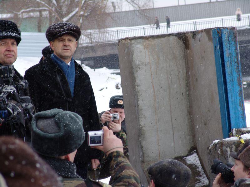 """Набережная Ижевского пруда. Март 2007 года. Фото из архива газеты """"День""""."""