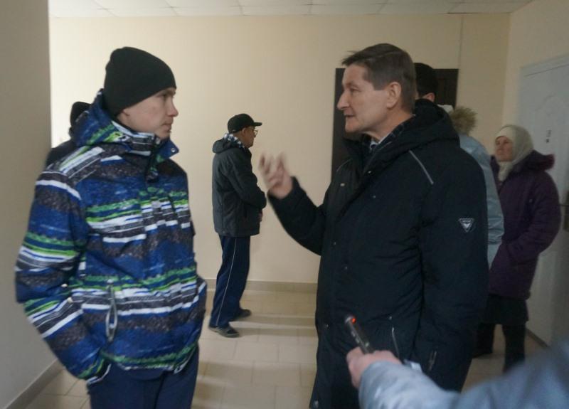 Антон Белых и Андрей Цаплин. Фото: © «ДЕНЬ.org»