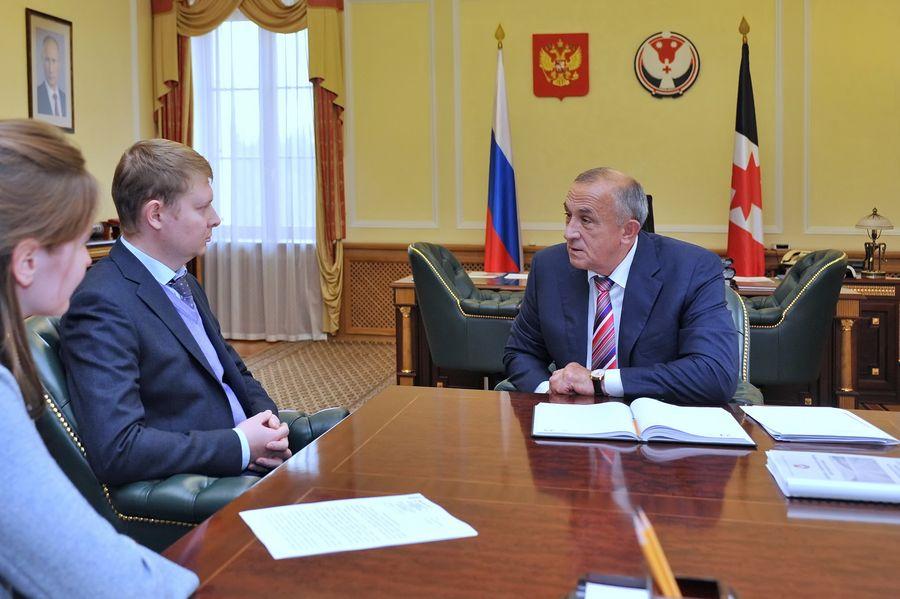 Фото: пресс-служба аппарата Главы и Правительства УР