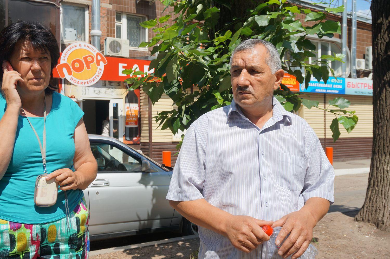 Застройщик  участка Рагил Асланов. Фото ©День.org