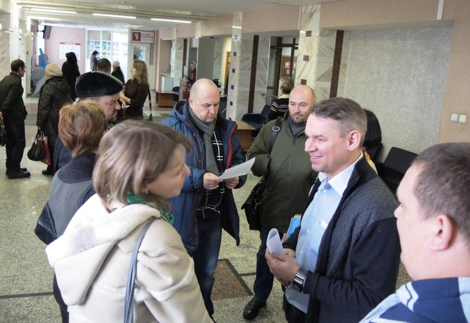 Активисты Градсовета и представители инициативных групп граждан. Фото: ©День.org