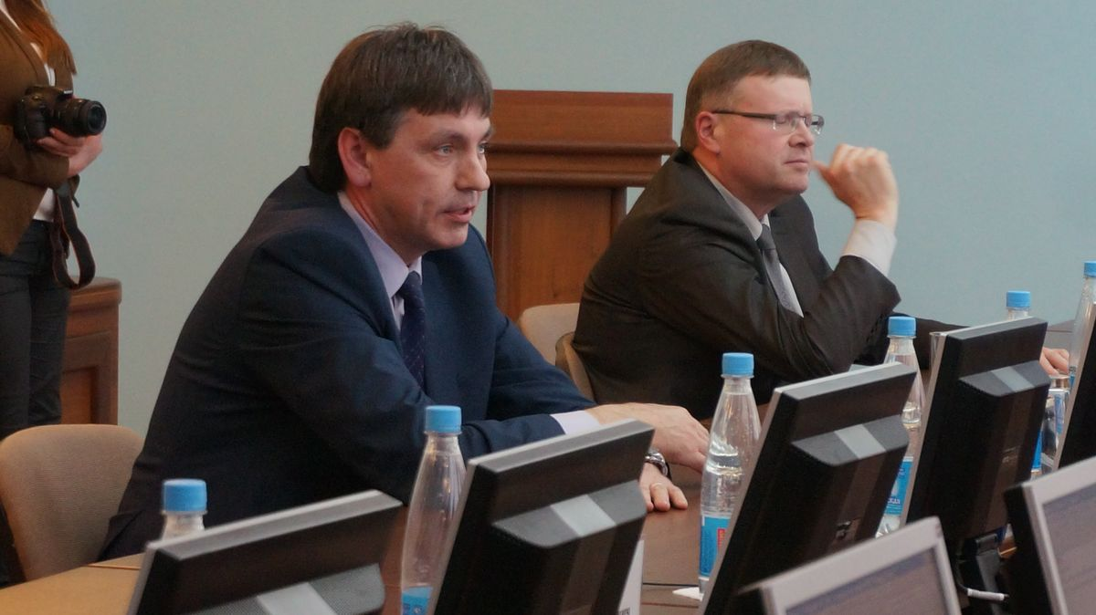 Сергей Кабанов и Сергей Задорожный. Фото: © «ДЕНЬ.org»