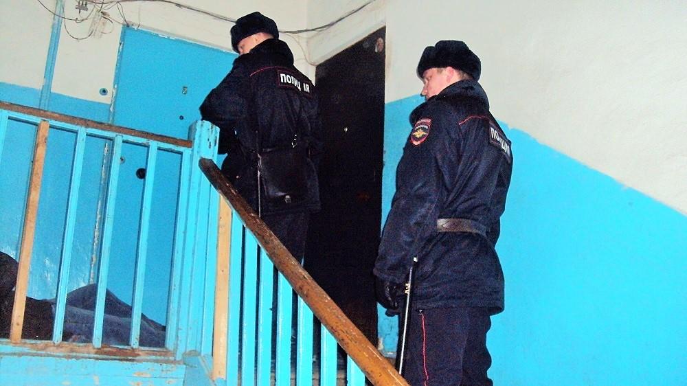Задержание дебошира. Фото: ©«ДЕНЬ.org»