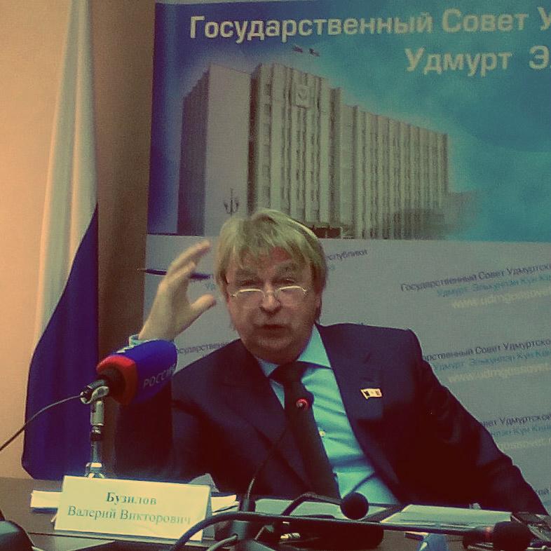Валерий Бузилов, председатель постоянной комиссии Государственного Совета Удмуртской Республики по экономической политике, промышленности и инвестициям.