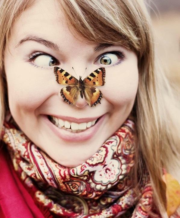 Смешные картинки с бабочками, картинки