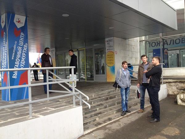 Чиновники дали старт строительству выставочного центра. ФОК «Здоровье» не лучший вариант. Фото: © «ДЕНЬ.org»