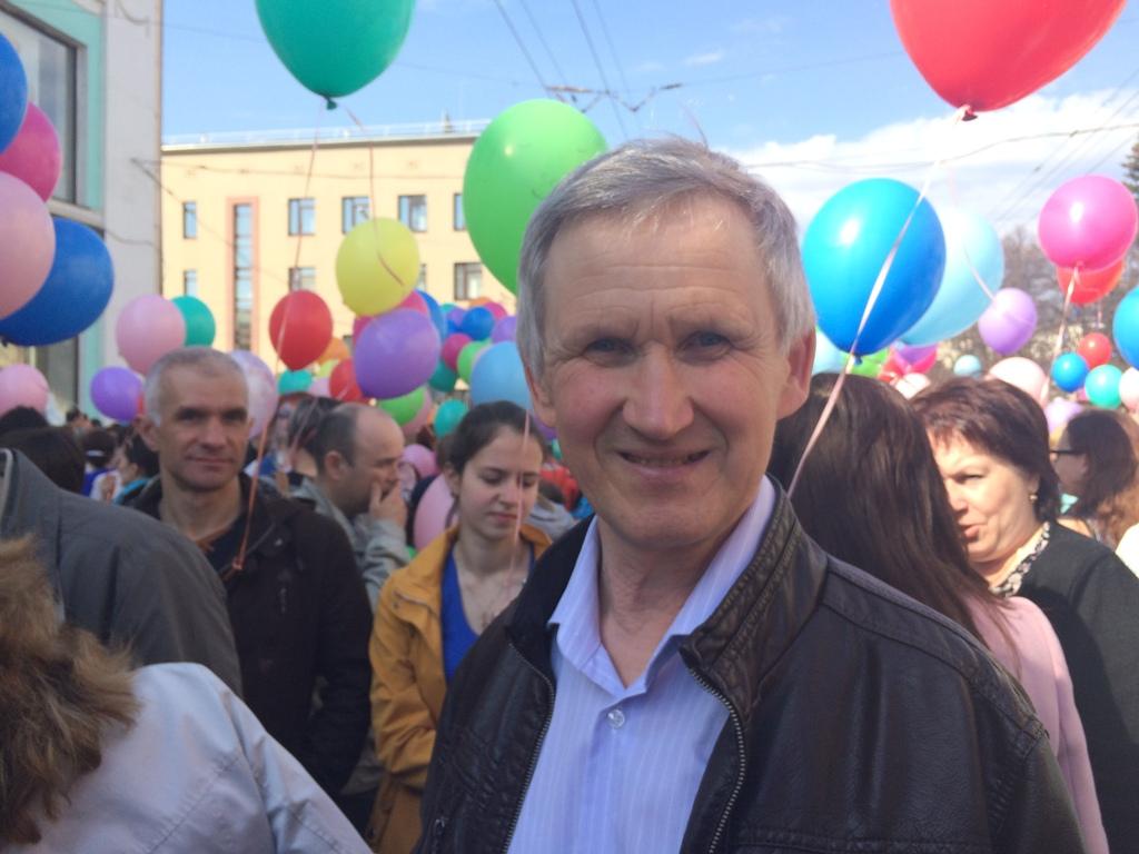 Владимир Феофилактов считает современный Первомай демократичным праздником. Фото ©День.org