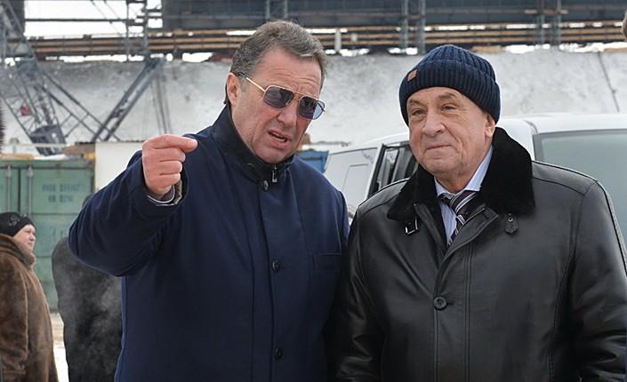 Александр Забарский и Александр Соловьев. Фото: udmurt.ru