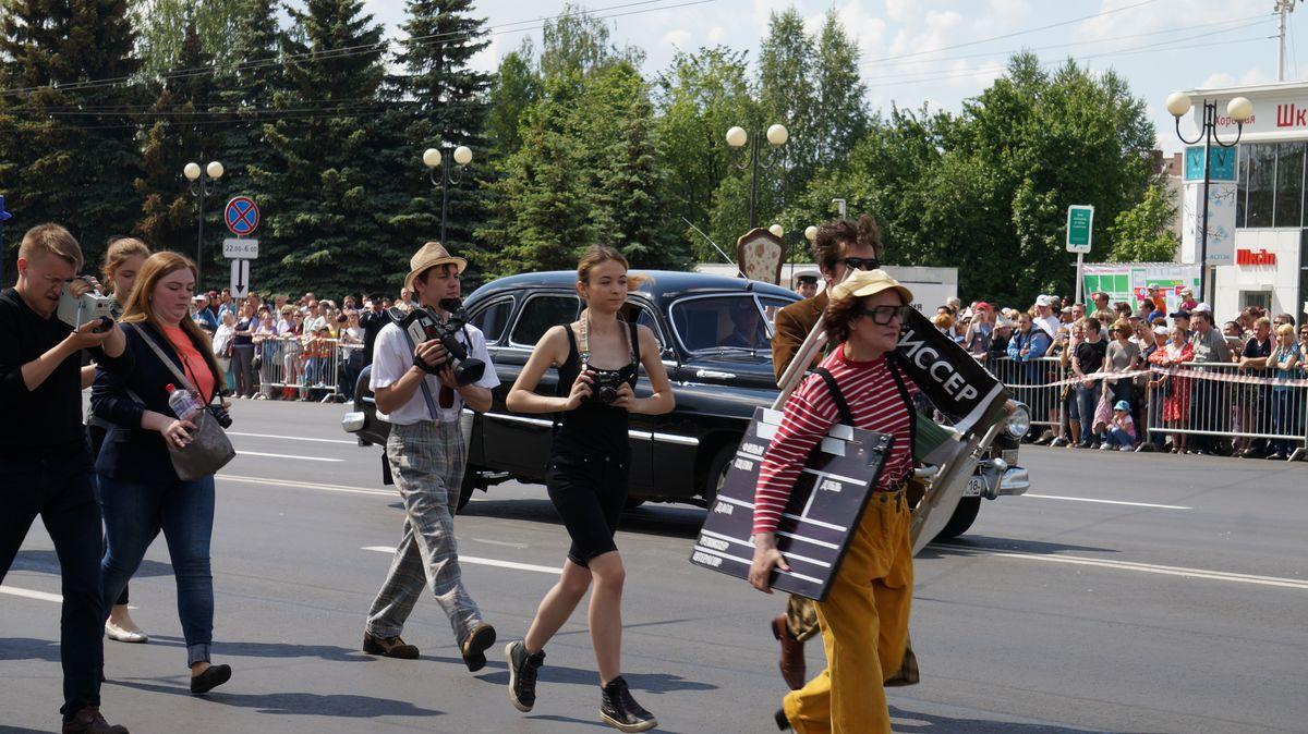Театрализованное шествие. Фото: © «ДЕНЬ.org»