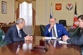 Глава УР на встрече с представителем минсельхоза РФ