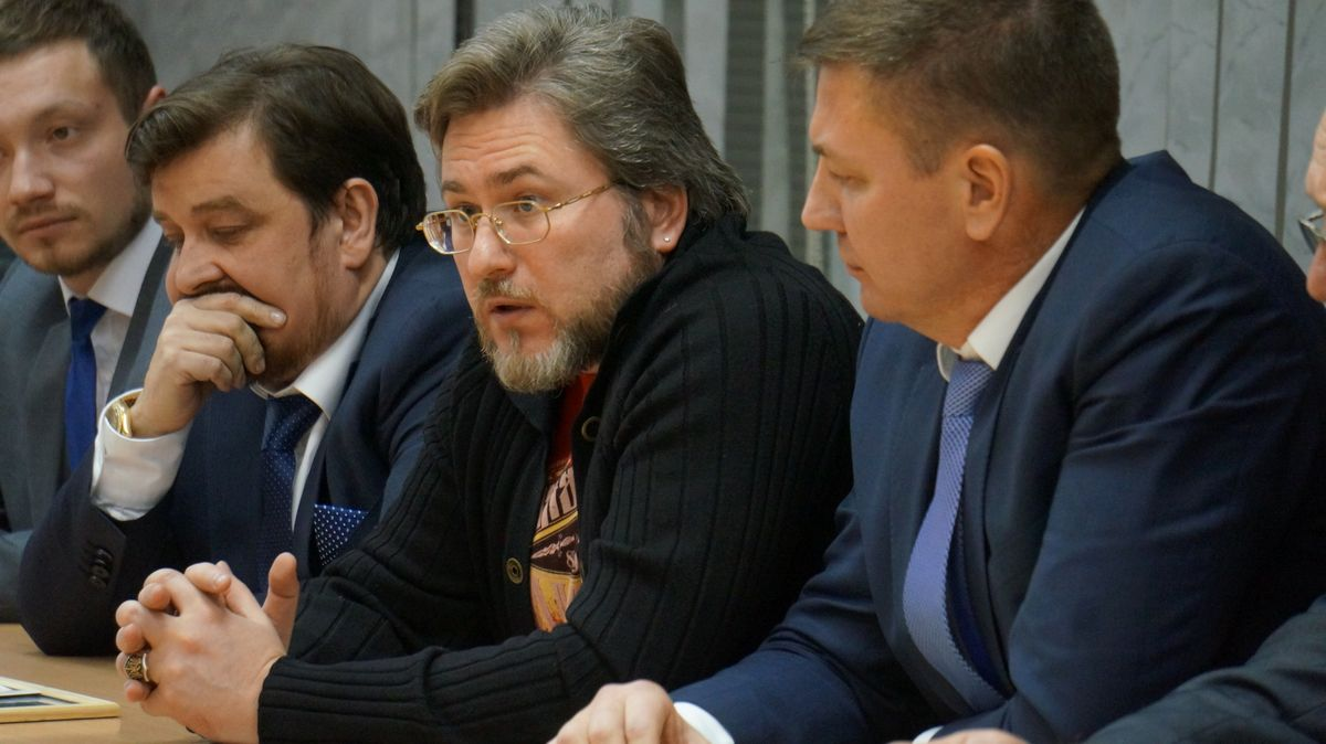 Олег Вылегжанин и Сергей Зайчиков. Фото: ©«ДЕНЬ.org»