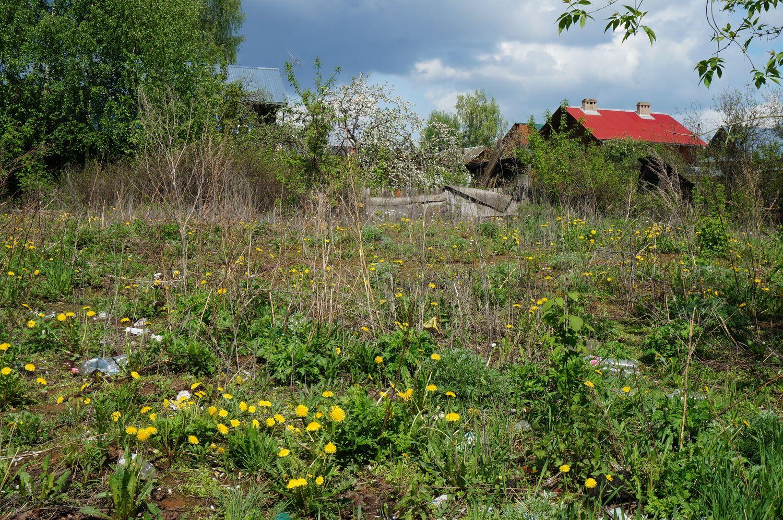 Ул. Халтурина. На таких маленьких пустырях чаще всего и появляются малоэтажки.©День.org