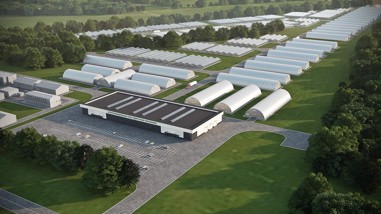 """Так будет выглядеть Агропарк в ближайшем будущем. Фото: предоставлено управляющей компанией """"Агропарка УР"""""""