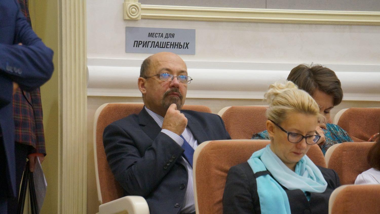 Ректор ИжГТУ Борис Якимович. Фото ©«ДЕНЬ.org»