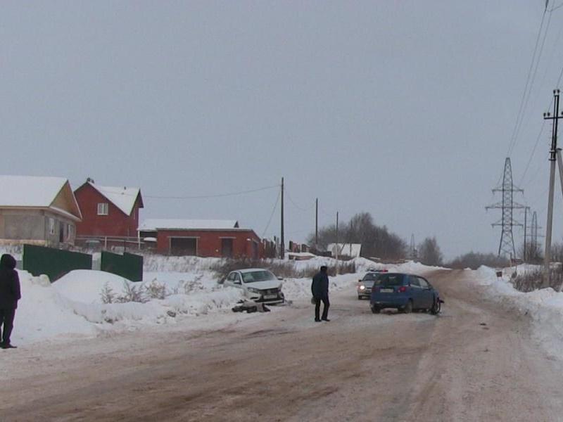 Женщина-водитель получила тяжелые травмы при ДТП натрассе «Ижевск— Аэропорт»