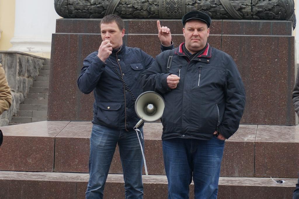 Тимофей Клабуков и Михаил Назаров. Фото: ©День.org