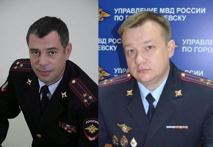 Константин Дубровин и Александр Жевлаков. Фото: пресс-служба МВД по УР