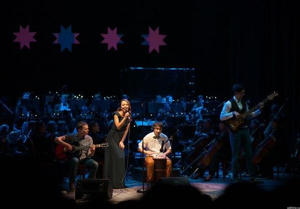 Совместный концерт группы Silent Woo Goore и Государственного симфонического оркестра Удмуртии. Фото: vk.com