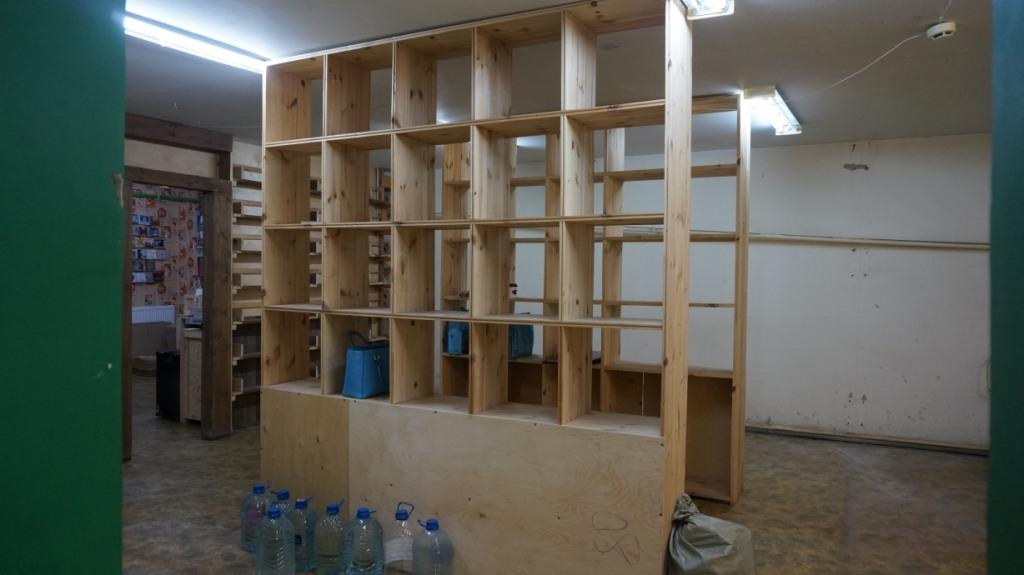 Полки «Букиниста» уже опустели. Фото: © «ДЕНЬ.org»