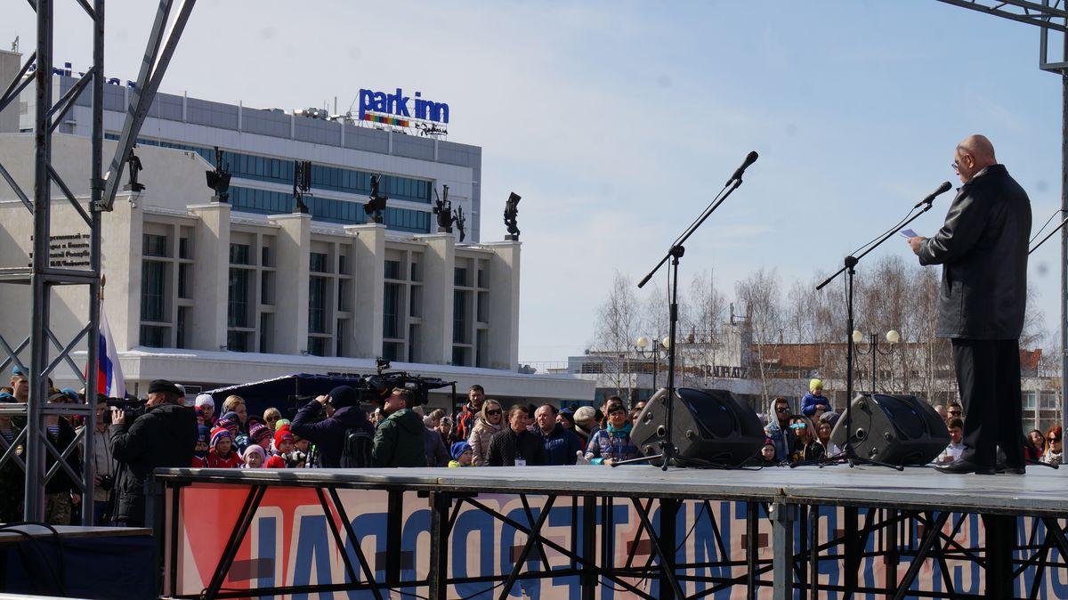 Сенатор Александр Чекалин. Фото: © «ДЕНЬ.org»