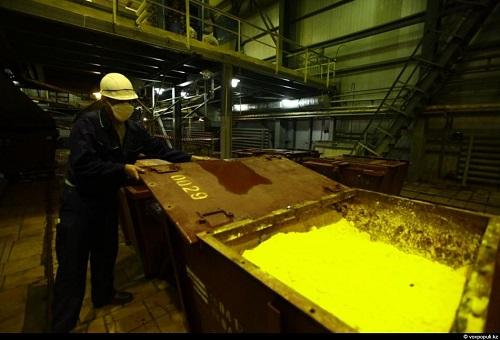 """Крупнейшее на Украине урановое производство """"ВостГОК"""" базируется в городе Желтые воды. Фото: hhgg.ru"""