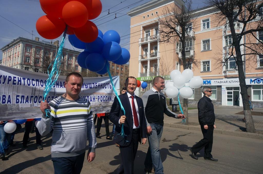 Олег Радионов вместе с коллегами. Фото ©День.org