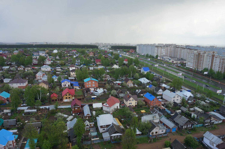 Восточный поселок.Только на этой фотографии 6 незаконных малоэтажек. ©День.org