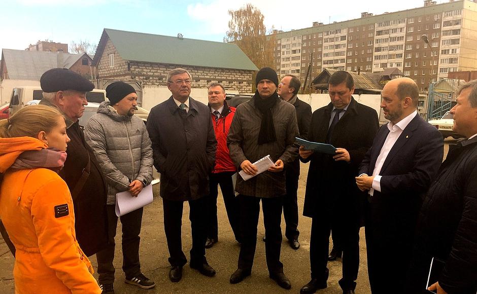 Еще один пункт повестки визита советника президента — разбор жалоб. Фото: klimenko.ru
