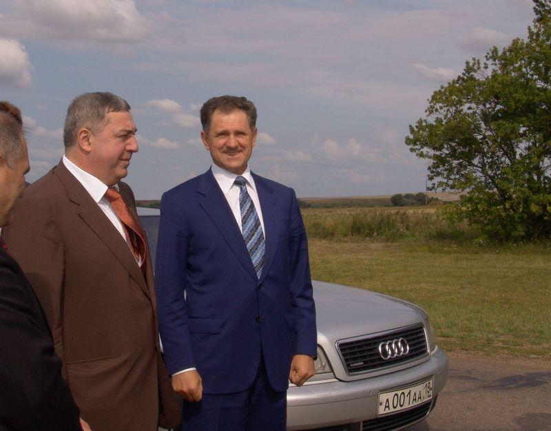 Михаил Гуцериев и Александр Волков в самом начале сотрудничества. Фото из архива газеты «День»