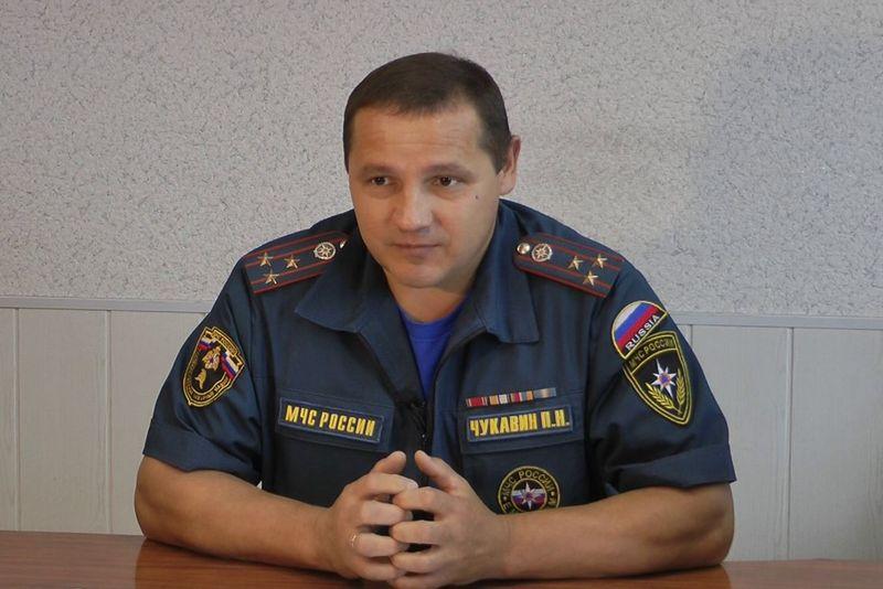 Павел Чукавин. Фото: facebook.com (МЧС Удмуртии)