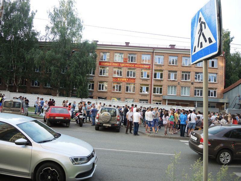 Прямо напротив городского военкомата земельный участок вот вот может уйти под застройку. Фото ©День.org