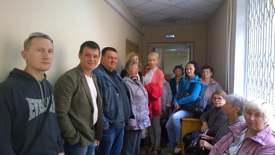 Группа поддержки. Фото: ©День.org