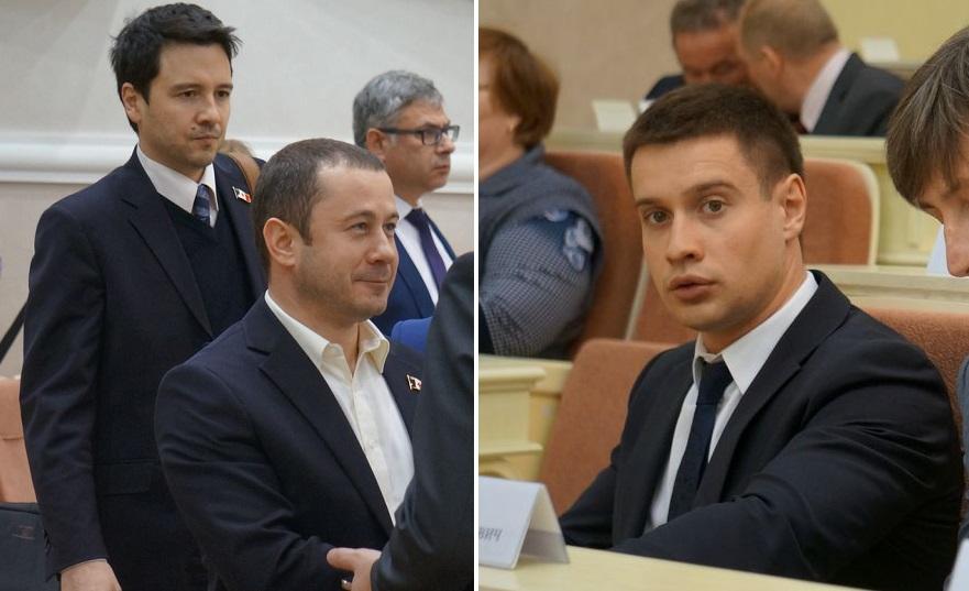 Станислав Лысков, Григорий Комиссаров и Андрей Мымрин. Фото: © «ДЕНЬ.org»