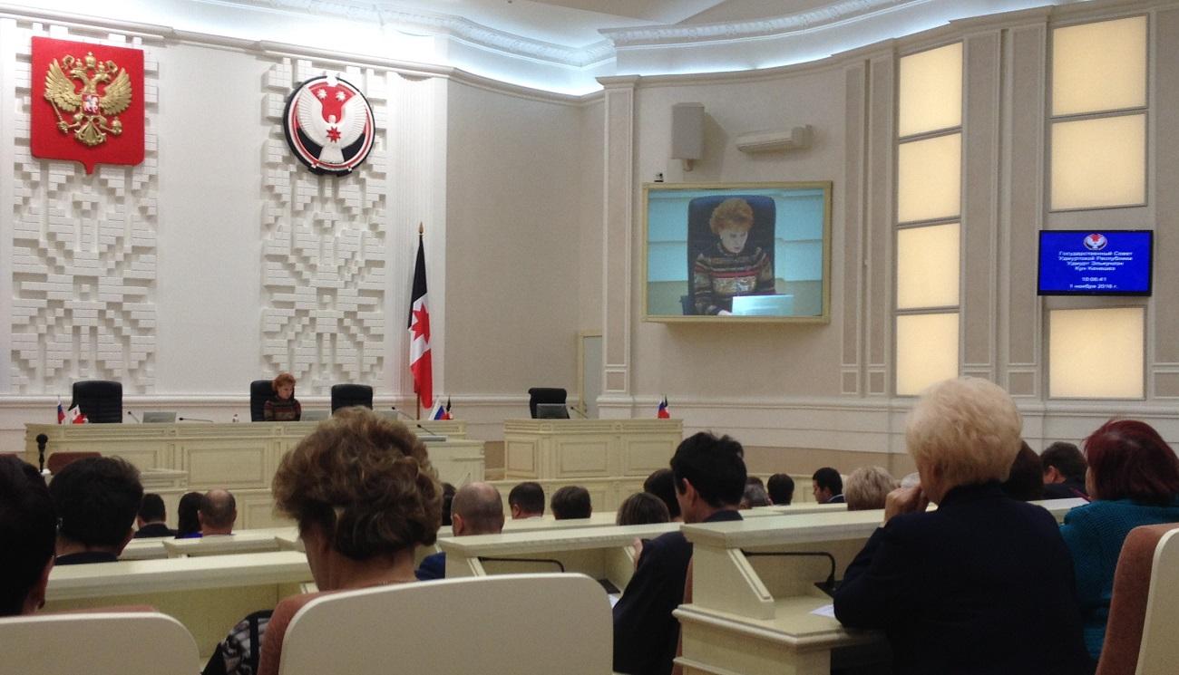 Председательство на слушаниях оказалось для Софьи Широбоковой весьма комфортным. Фото: © «ДЕНЬ.org»