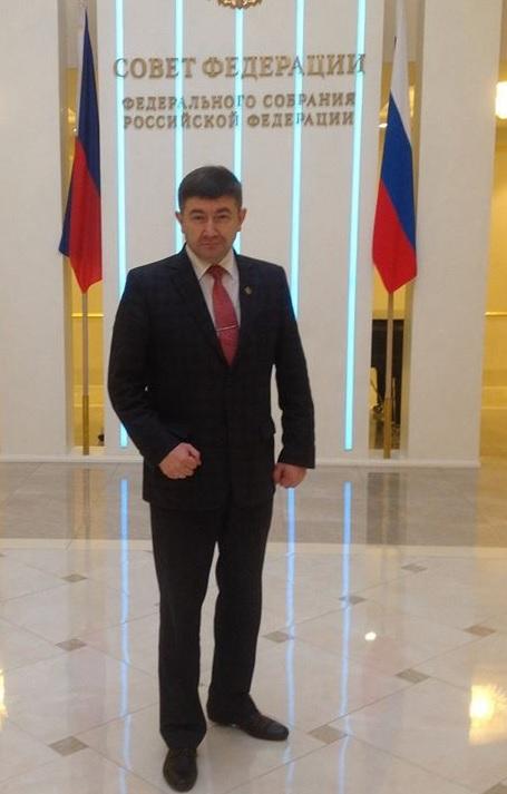 На Днях Удмуртии в Совете Федерации. Фото: facebook.com (Алексей Чуршин)