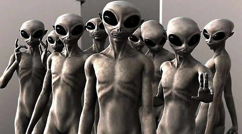 Художественный образ пришельцев. Реальность может оказаться совсем иной. Источник: dinlog.ru