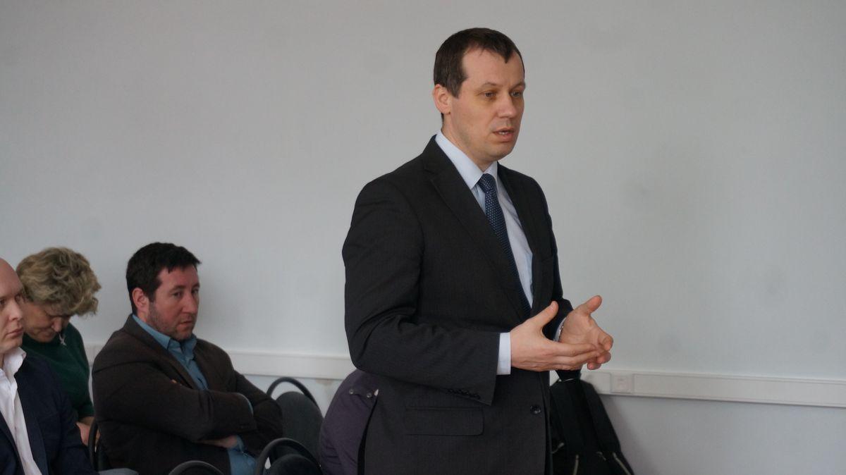 Глава Сарапула Александр Ессен. Фото: © «ДЕНЬ.org»