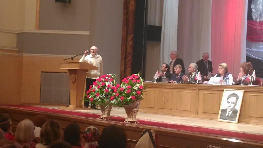 Выступление Альберта Разина вызвало негодование у Игоря Семенова. Фото: «ДЕНЬ.org»