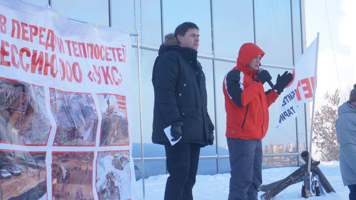 Андрей Коновал и Тимофей Клабуков. Фото: © «ДЕНЬ.org»