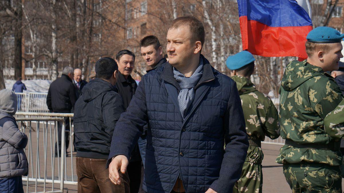 Председатель Гордумы Ижевска Олег Гарин. Фото: © «ДЕНЬ.org»