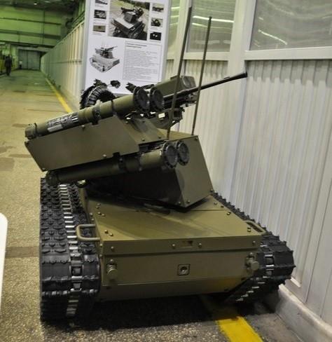 Военный робот «Платформа-М». Фото: russia.ru