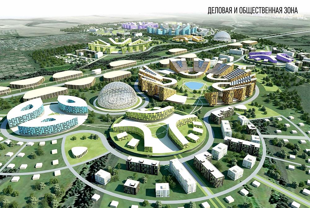 Проект Робограда, где предлагается построить экспоцентр